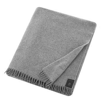 Must Relax Virgin Wool Blanket - 130x190cm - Medium Gray