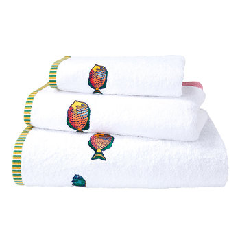 Djam White Towel