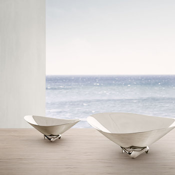 Henning Koppel Wave Bowl - Stainless Steel - 31cm