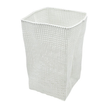 Tube Mesh Storage Basket - Off White