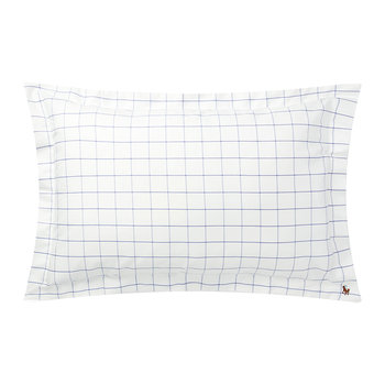 Baxter Pillowcase - Blue - 50x75cm
