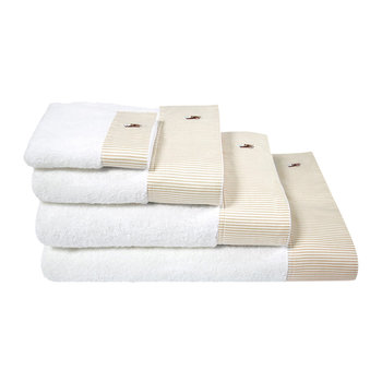 Oxford Towel - Sand