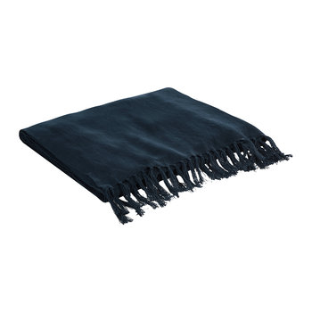 Rue Vaneau Everly Throw/Blanket - Blue