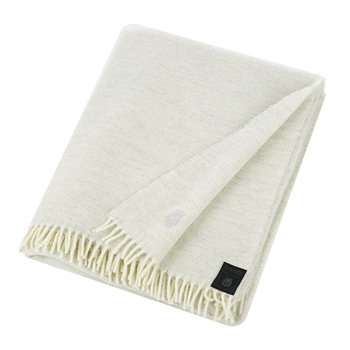 Must Relax Virgin Wool Blanket - 130x190cm - Off White