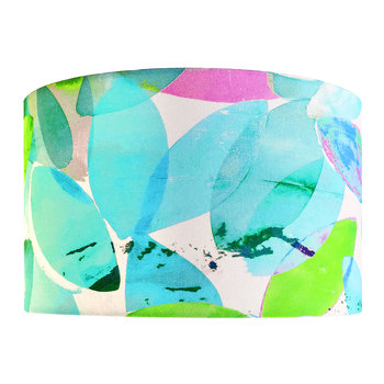 Falling Leaves in Summer Lamp Shade
