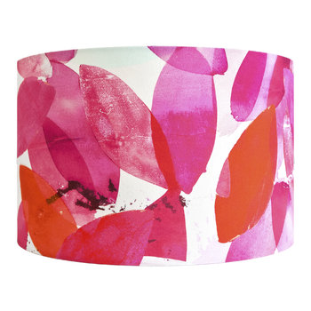 Falling Leaves in Autumn Lamp Shade