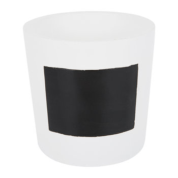 Chalk Board Pot