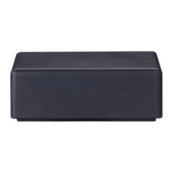Theca Leather Trinket Box - Navy