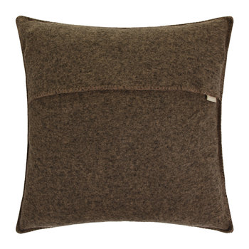 Soft Wool Cushion - 50x50cm - Wood