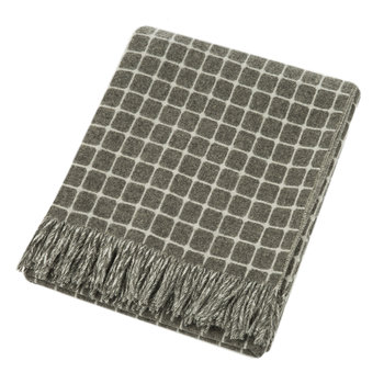 Athens Merino Lambswool Throw - Slate
