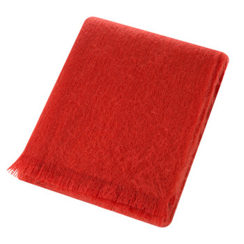 Mohair Throw - Flame