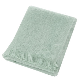 Mohair Throw - Green Mist