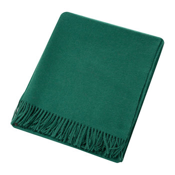 Natural Alpaca Throw - Jade