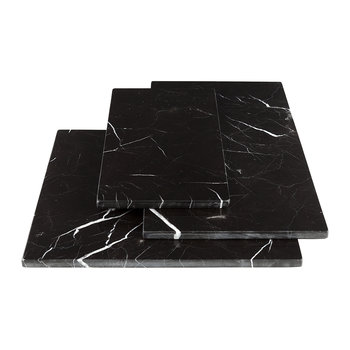 Rectangular Marble Serving Board - Black