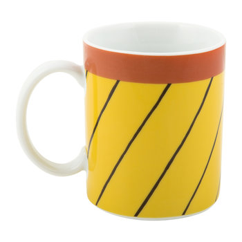 Rio Mug - Thin Black Stripes