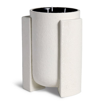 Cubisme 3 Wick Candle - Black/White