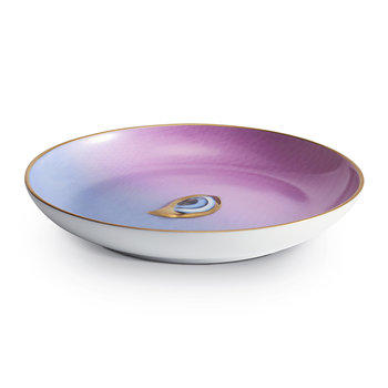 Lito Eye Canape Plate - Blue/Purple