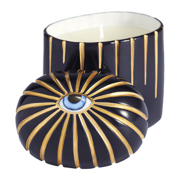Lito Eye Candle - Blue & Gold