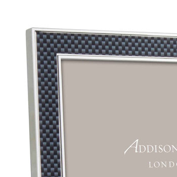 Grey Carbon Fibre Photo Frame