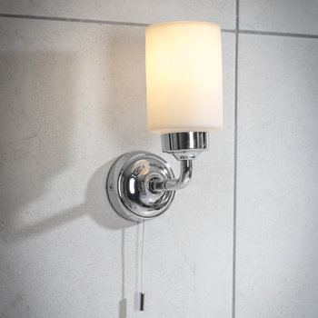 Greenwich Bathroom Wall Light - Chrome
