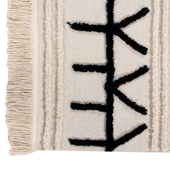 Bereber Canvas Washable Rug
