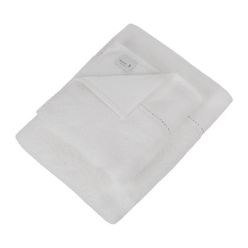 Crystal Line Collection Towel - Snow