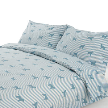 Labrador Blue Duvet Set