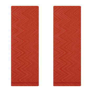 Serviette - 2er-Set - Orange