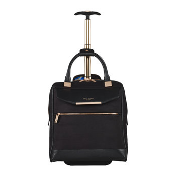 Albany Softside 2 Wheel Business Bag - Black
