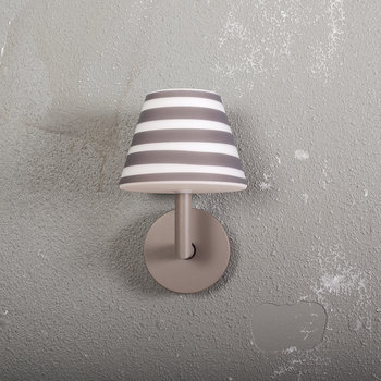 Add The Wally Wall Light - Taupe