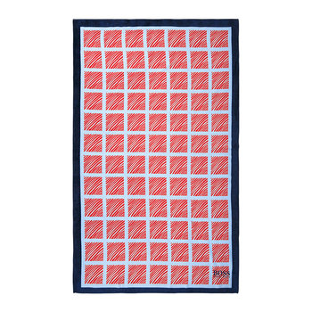 Lighthouse Beach Towel - Blue