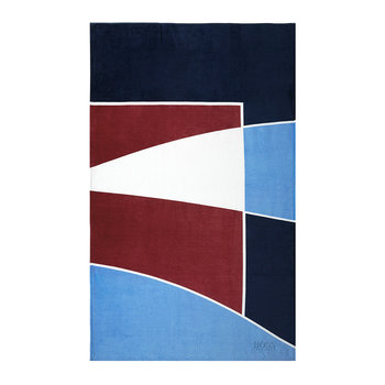 Race Garnet Beach Towel