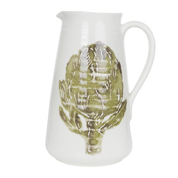 Artichoke Ceramic Pitcher