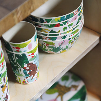 Bodil Bamboo Cups - Set of 2