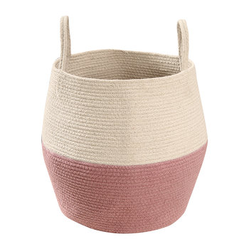 Zoco Basket - Ash Rose/Natural