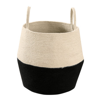Zoco Basket - Black/Natural