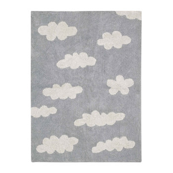 Clouds Washable Rug - Grey - 120x160cm