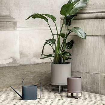 Bau Plant Pot - Warm Grey