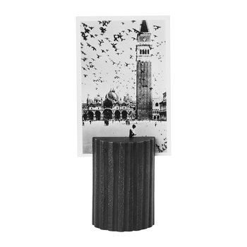 Column Card Stand/Photo Holder - Black