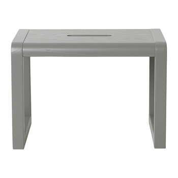 Little Architect Wooden Stool - Grey