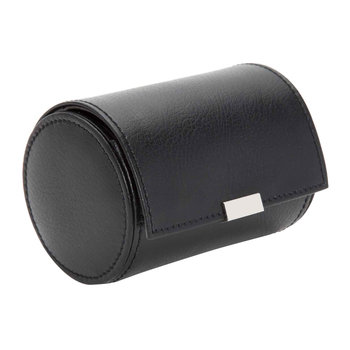 Howard Leather Single Watch Roll - Black