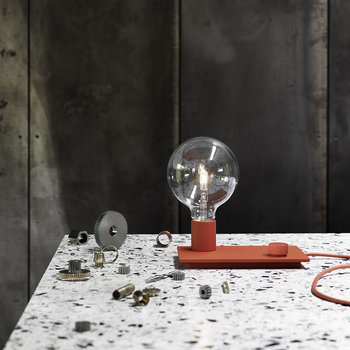 Control Table Lamp - Red