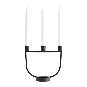 Open Candelabra - Black