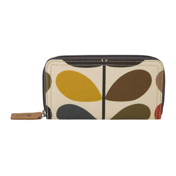 Big Zip Purse - Multicoloured - Multi Stem