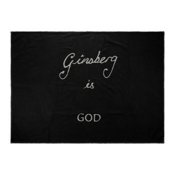 Ginsberg Is God Blanket - Black