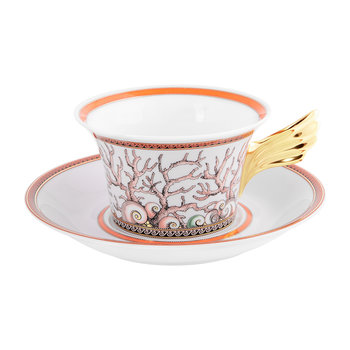 25th Anniversary Étoiles De La Mer Teacup & Saucer - Limited Edition