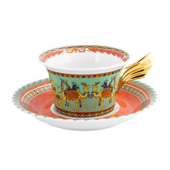 25th Anniversary Marco Polo Teacup & Saucer - Limited Edition