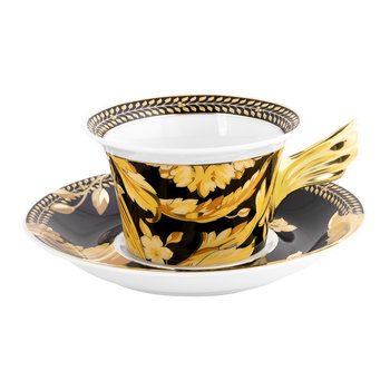 25th Anniversary Vanity Teacup & Saucer - Limited Edition