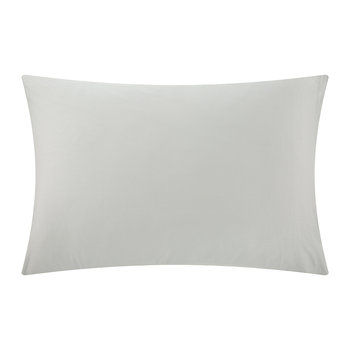 Plain Dye Pillowcase - Platinum