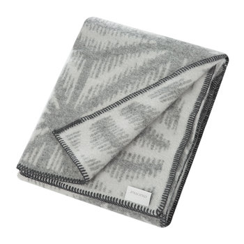 Tella Throw - Dove Grey